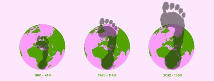 Resultat d'imatges de petjada ecològica