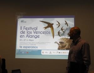 Jesús Solana, organizador del festival